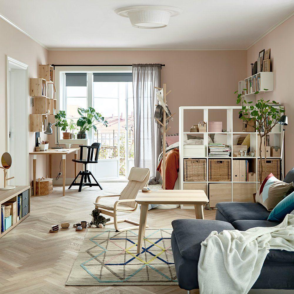 19 idées pour mettre un lit dans son salon  Deco appartement