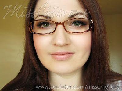 MissChievous.tv: Makeup for Glasses Wearers