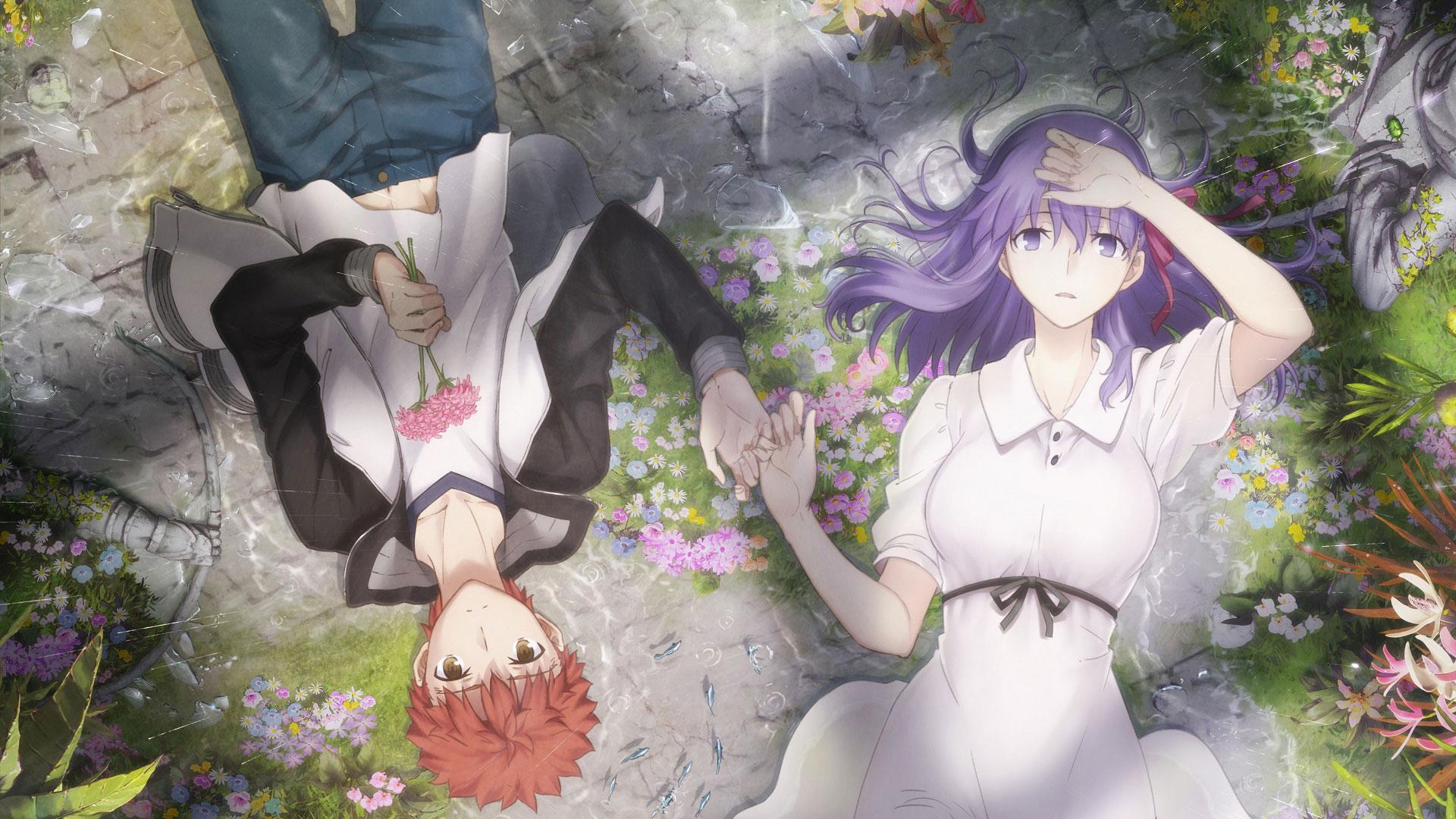 Anime Fate Stay Night Movie Heaven S Feel Fate Series Sakura