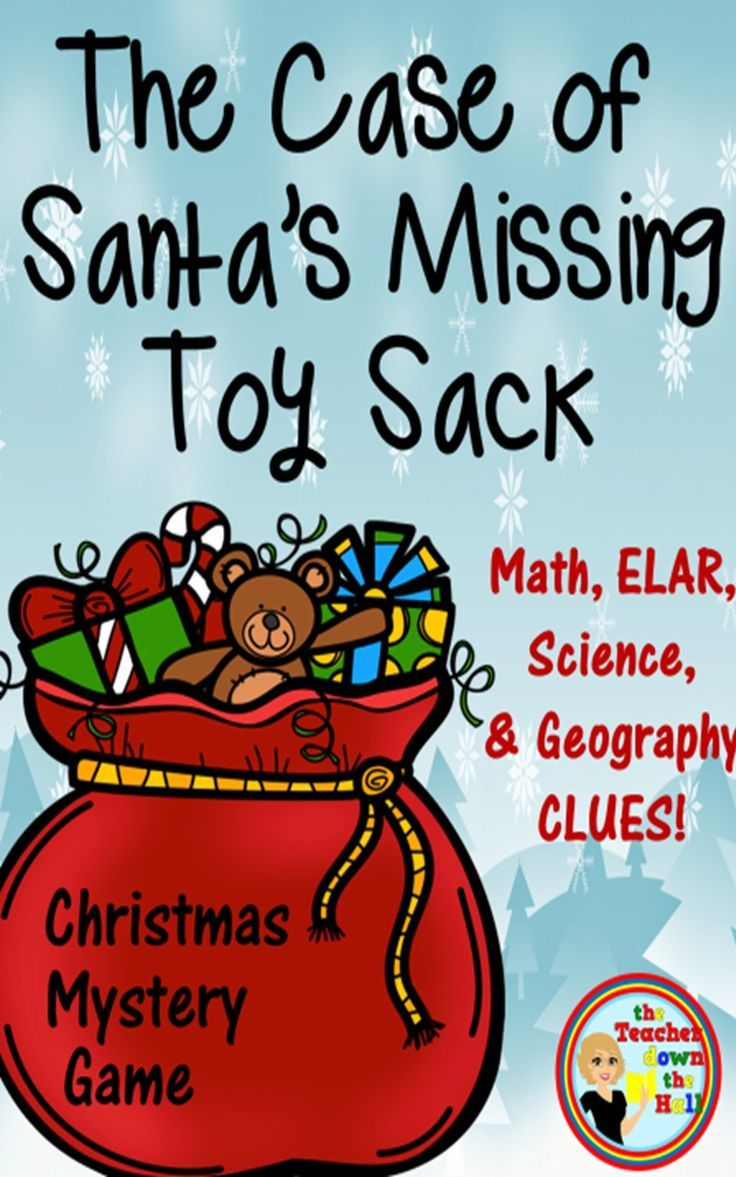 Christmas Mystery Game - ELAR, Math, Science, and Geography ...