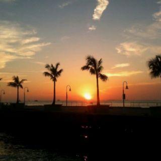 Sunset in Key West, FL.
