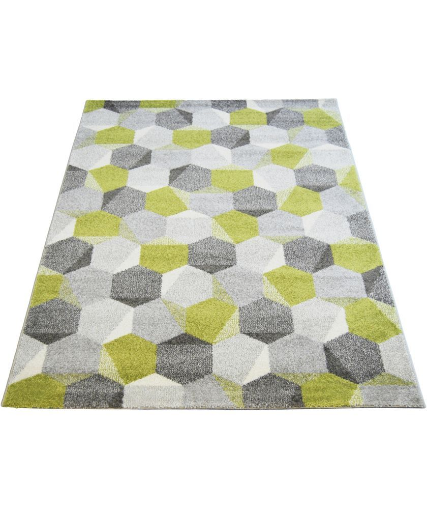 Buy Monte Carlo Pixel Rug 120x170cm - Green at Argos.co.uk - Your Online Shop for Rugs and mats.