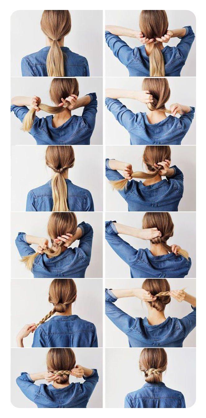 87 peinados Easy Low Bun y sus instrucciones paso a paso: todo para los mejores peinados