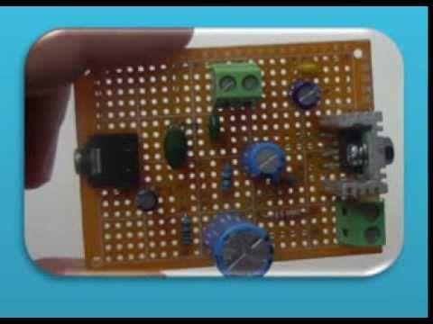 """Como hacer un Amplificador casero barato y sencillo (con distorsion) """"Ruby"""" Backtracks Amp - YouTube"""
