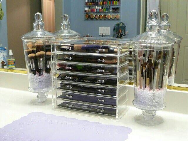 Makeup organizers ....Love ittt!