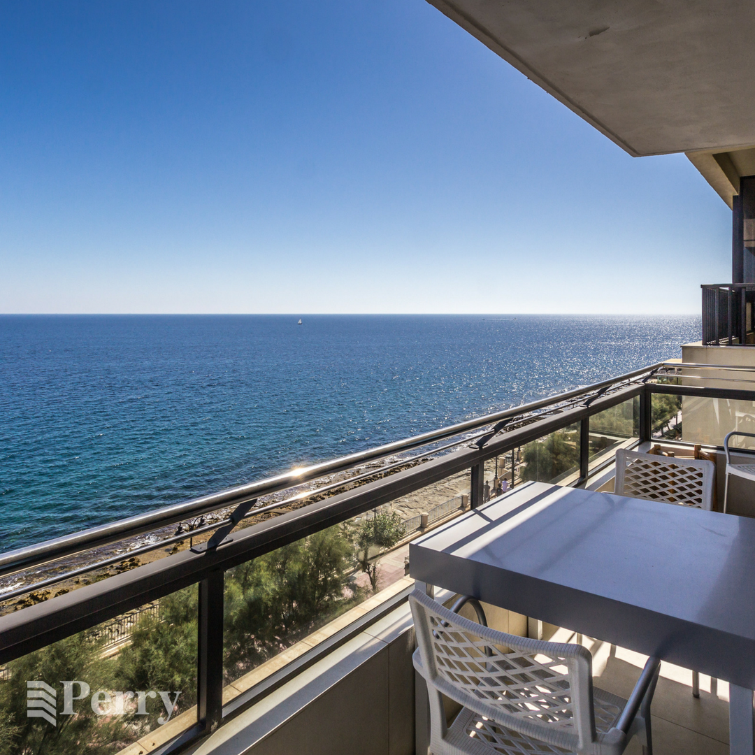 Seafront Apartment on the prestigious Tower Road in Sliema ...