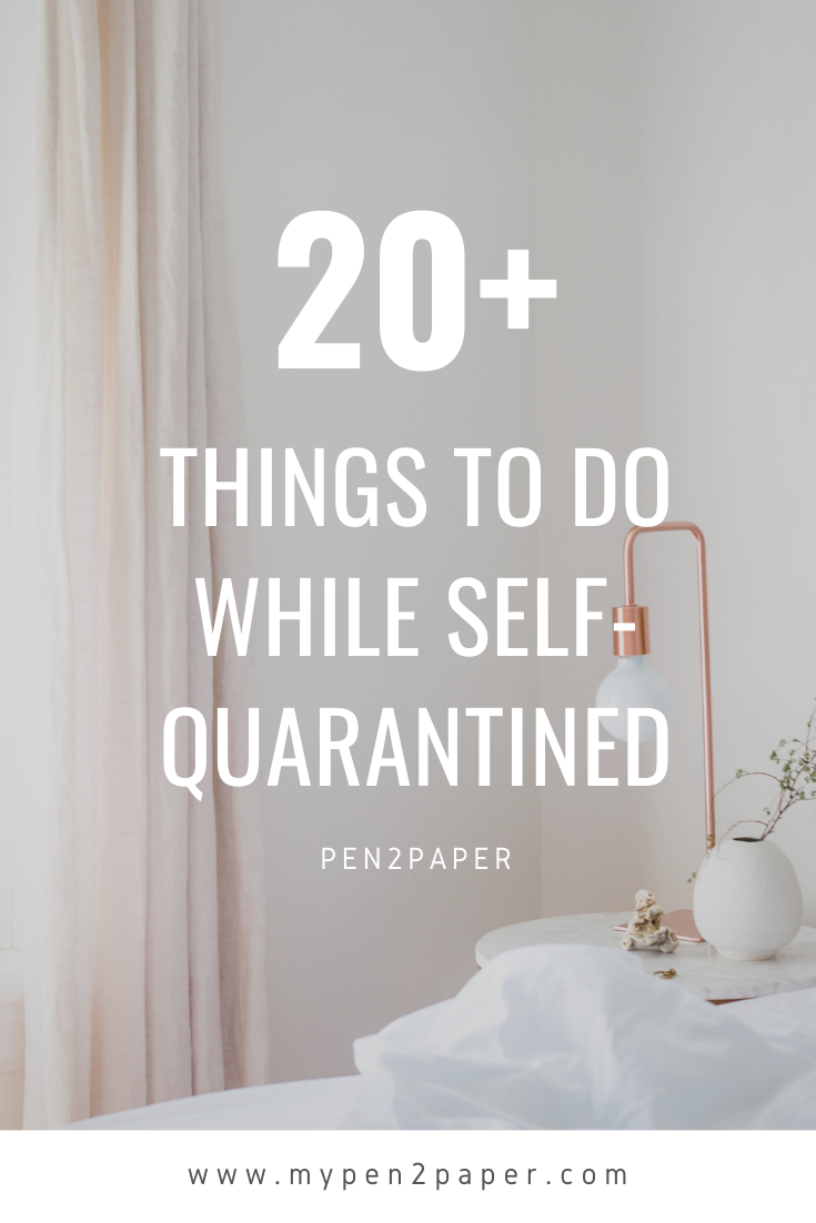 20 Things To Do While Self Quarantined In 2020 Fun Activities To Do Things To Do Fun Family Activities