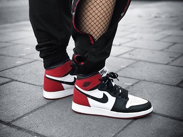 Black Toe J1 : @fzanii_ #shoes #shoe #kicks #instashoes
