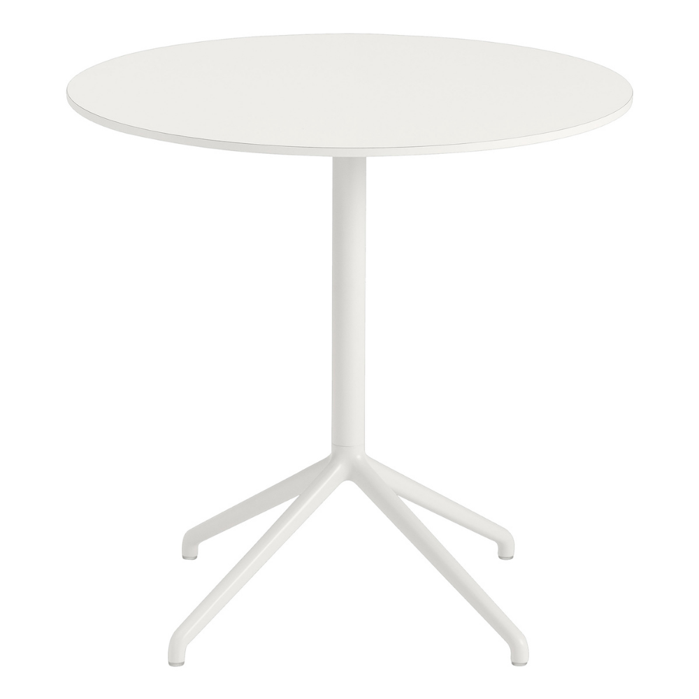 Muuto Still Cafe Table 75 Cm White Cafe Tables White Units Table