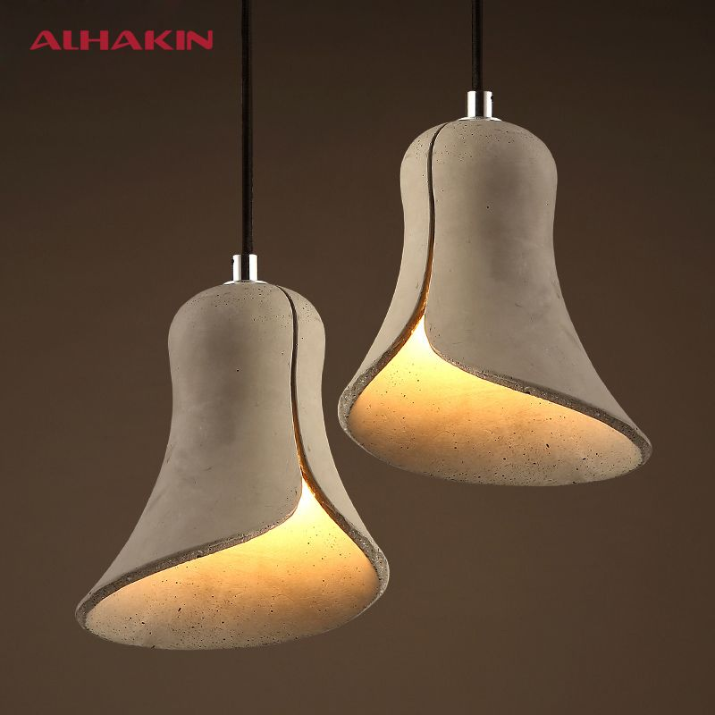 Aliexpress Buy New Design Cement Pendant Lights Horn Restaurant Bar Dining Table Lamp