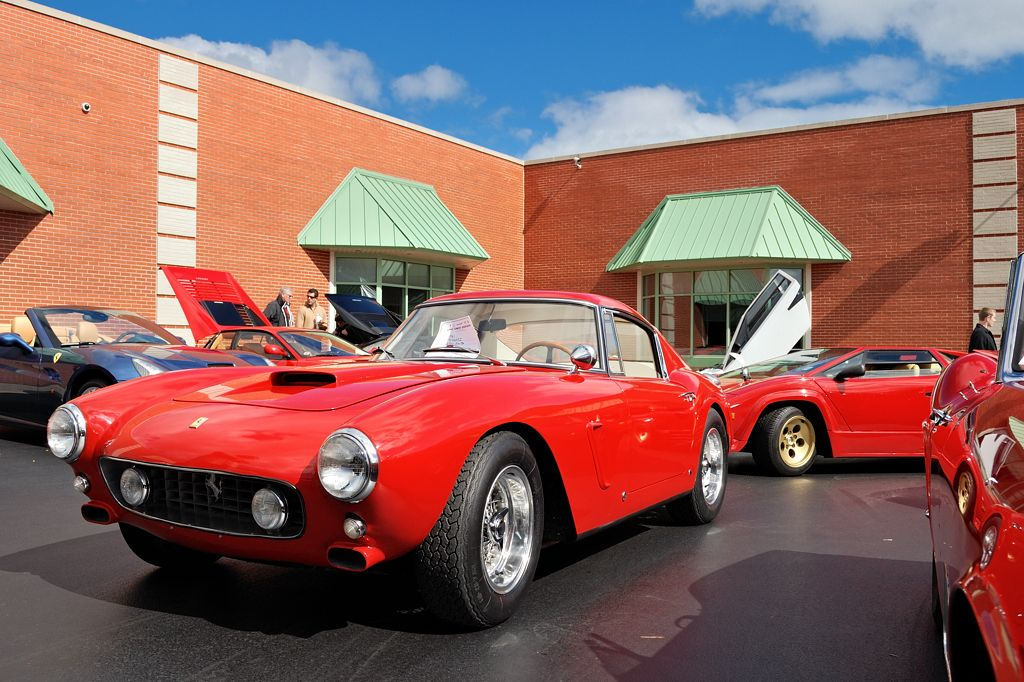 Italian Machinery Lake Forest Sports Cars concours Octob… Carmen B Flickr