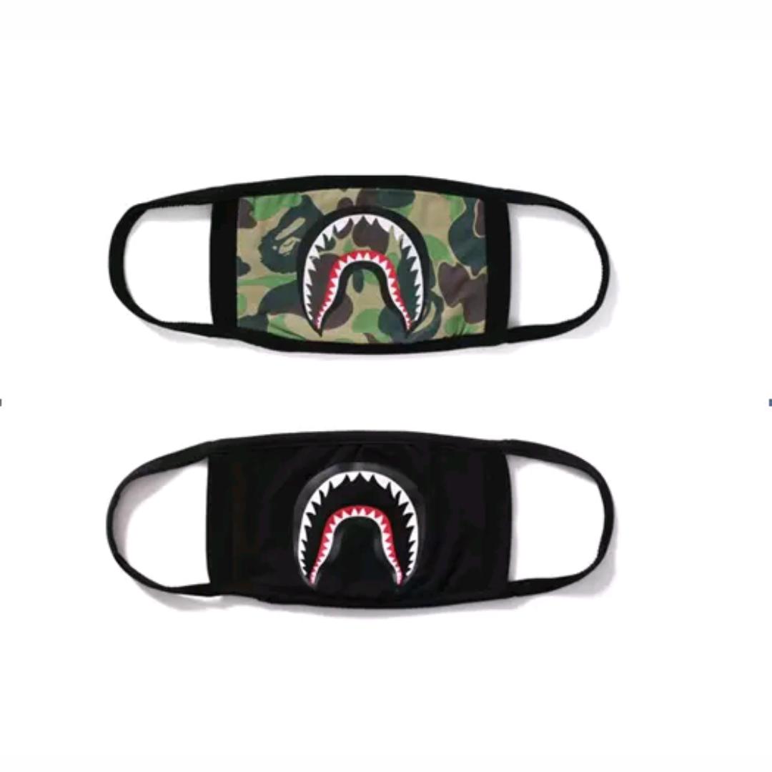Resultado De Imagen Para Bape Shark Logo Kertas Dinding Wallpaper Ponsel Abstrak