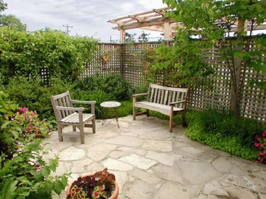 parques de casas modernos jardines modernos peque os
