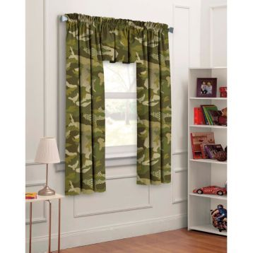 Your Little One Will Love The Green Camouflage 3 Pc Curtain Set Kirklands BedandBath