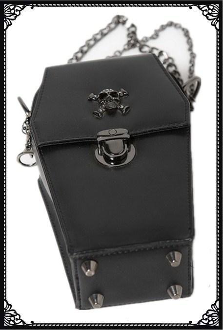Small Coffin Bag Black