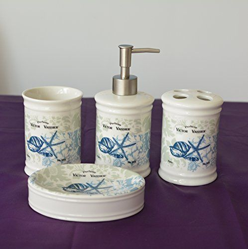 Brandream Blue Ocean Theme Bathroom Sets Nautical Bathroom
