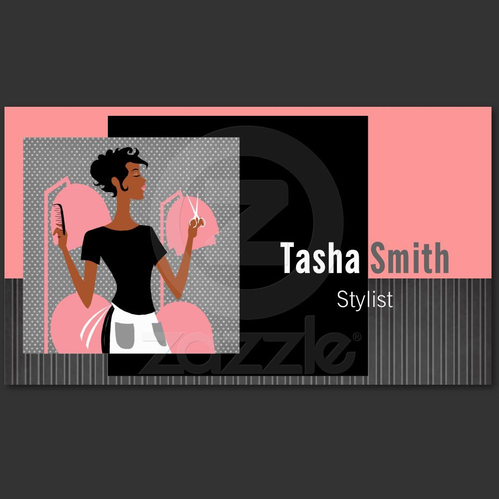 Hair Stylist Business Cards Stand Out From The Crowd With Custom