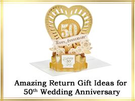 Most Amazing Return Gift Ideas For 50th Wedding Anniversary Fiftieth Wedding Anniversary Gifts 50 Wedding Anniversary Gifts Golden Anniversary Gifts