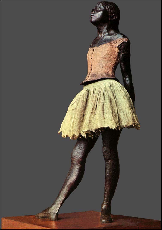 degas ballerina sculpture - 650×924