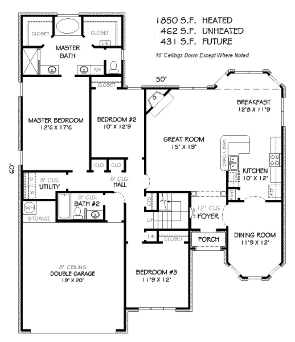 Side split house plans the image kid for Side split house designs