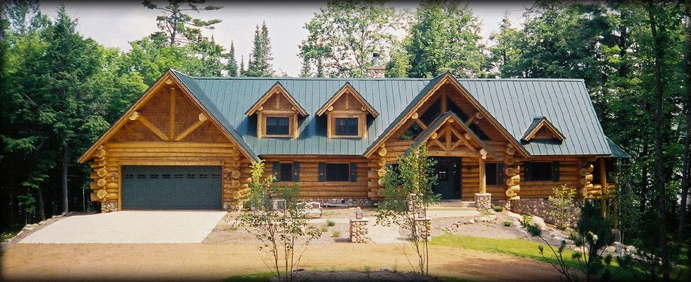 log home roof systems Architectural Standing Seam Metal