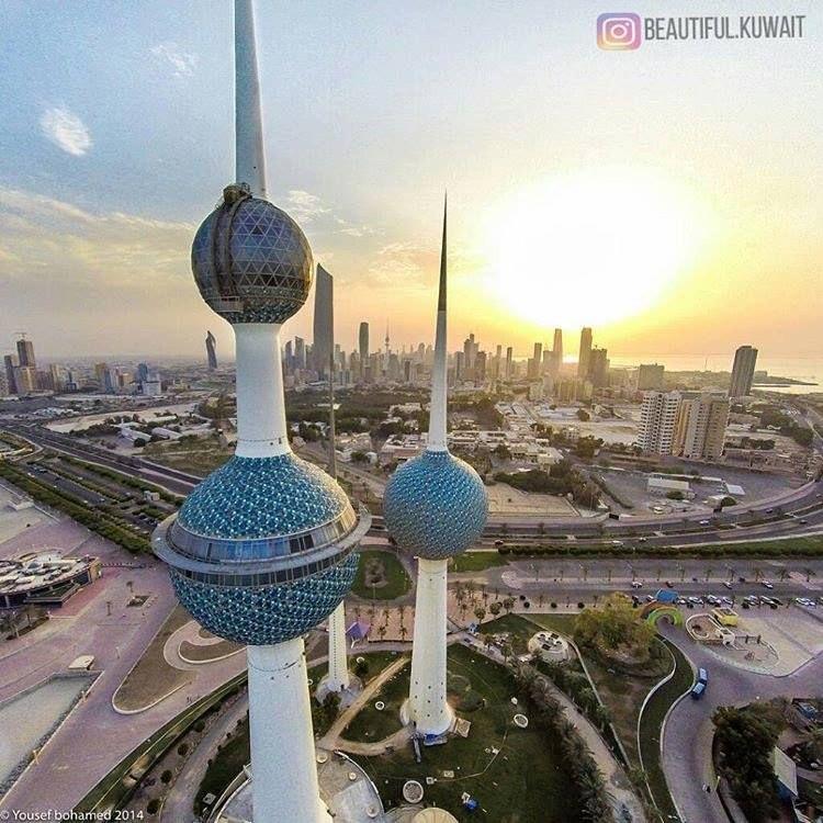 Kuwait Towers Is One Of Kuwait S Most Famous Landmarks أبراج الكويت ابراج الكويت Kuwait City Kuwait Kuwaitcity Middleeast Arabia Kuwait City City Kuwait