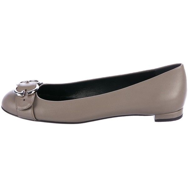 Pre-owned - Leather flats Gucci UEnsMdCQv