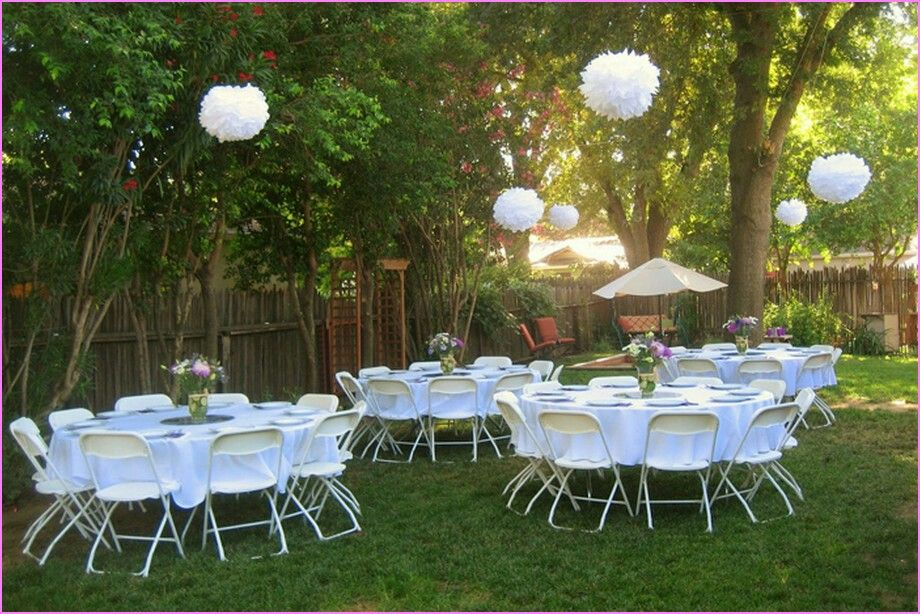 Pin by Jane Oneal on Wedding | Backyard bridal showers ...