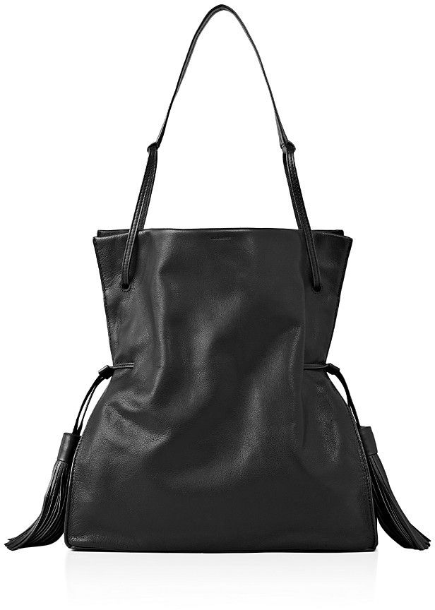 ALLSAINTS Liberty Slouchy Hobo $398 thestylecure.com