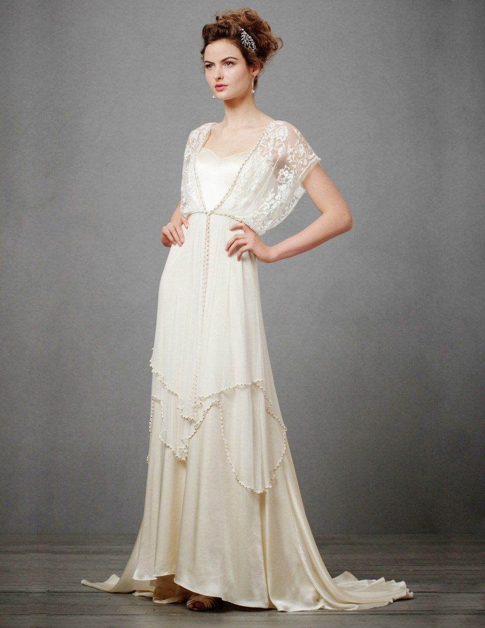 Catherine Deane Lita,An Edwardian Style Wedding Dress,Retro and ...