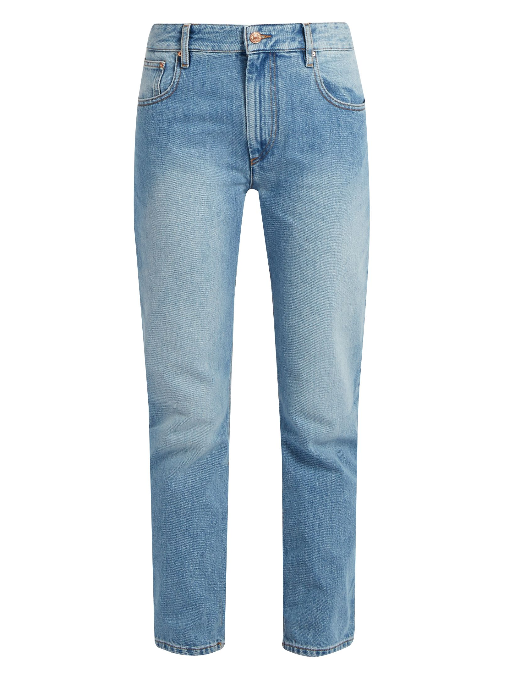 3194c54c2731 Cliff high-rise straight-leg jeans