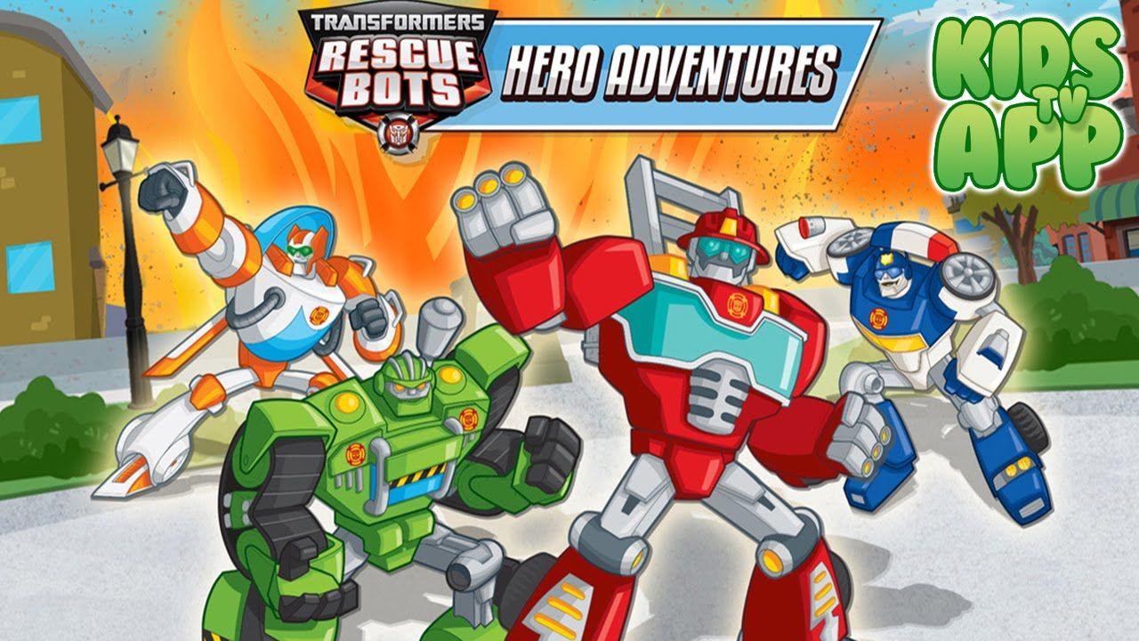Transformers Rescue Bots Hero Adventures (Budge Studios