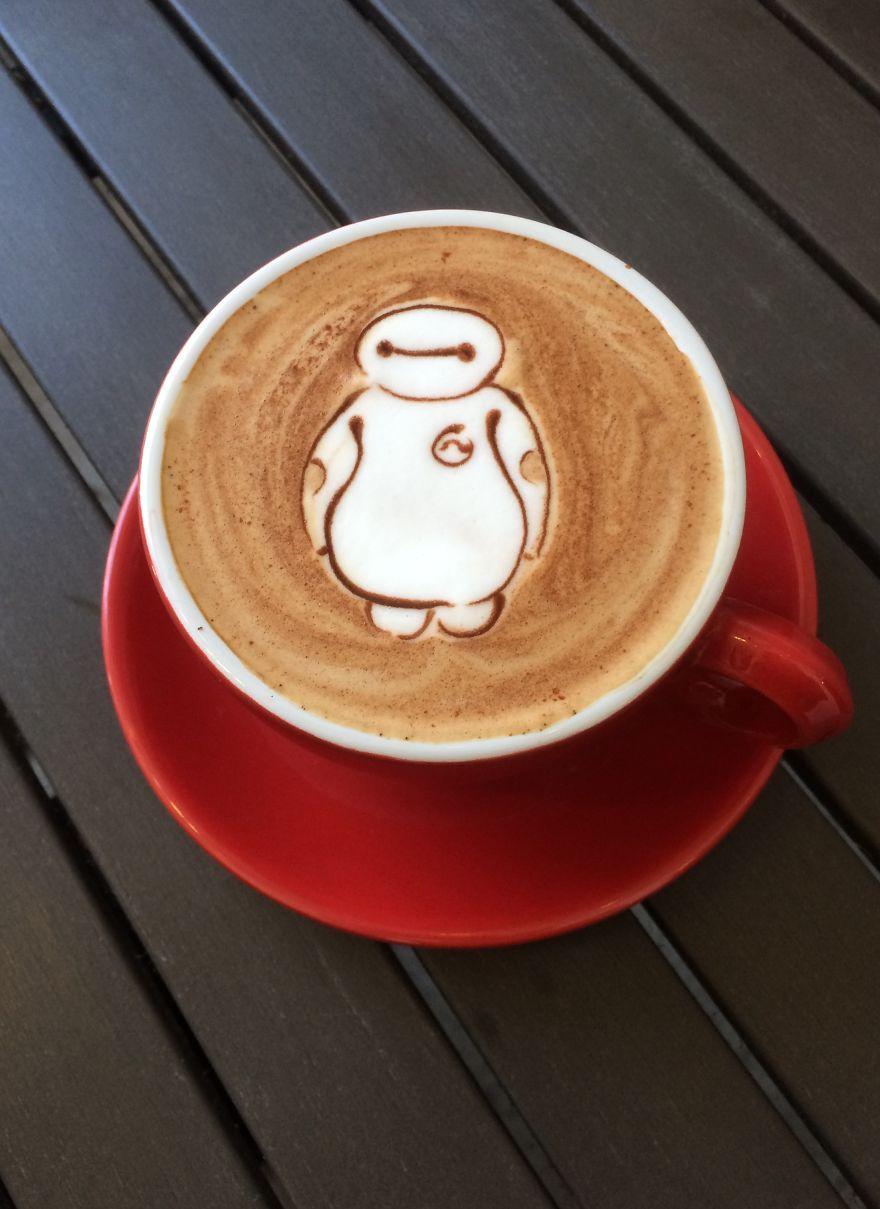 Barista Creates The Most Beautiful Latte Art Latte Art Coffee Art Latte