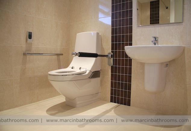 Geberit AquaClean 8000plus Care Bidet Toilet installed for special ...