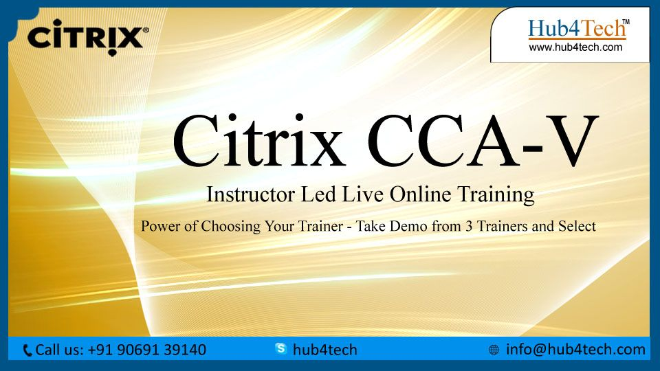 Are You Preparing For The Citrix Certified Associate