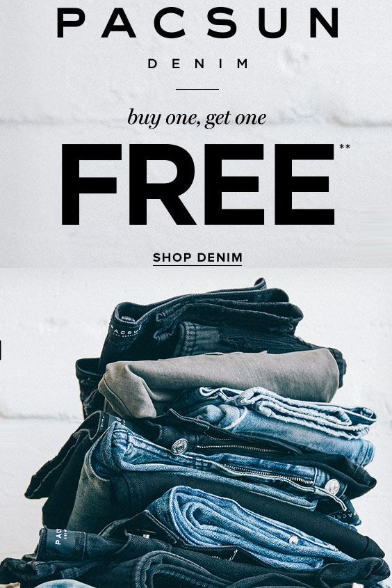 pacsun buy one get one free
