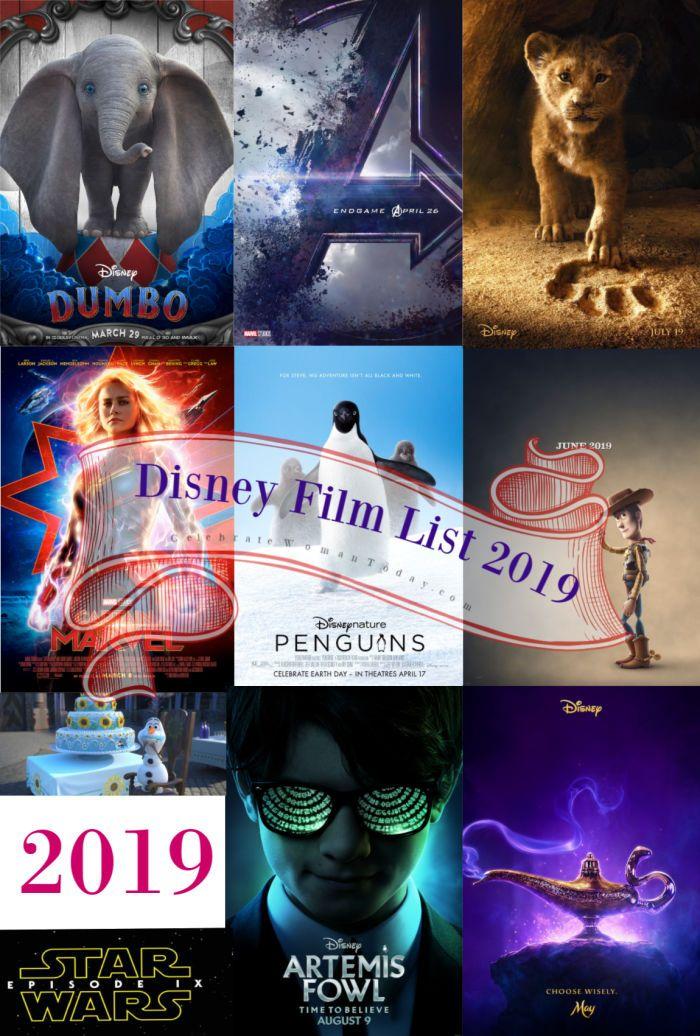 2019 Walt Disney Studios Motion Pictures Slate Is