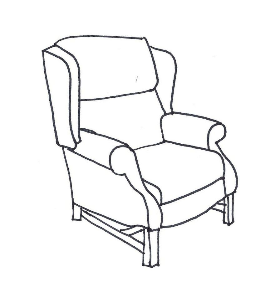 Black and white chair drawing - Line Drawings Of Chairs Google Search
