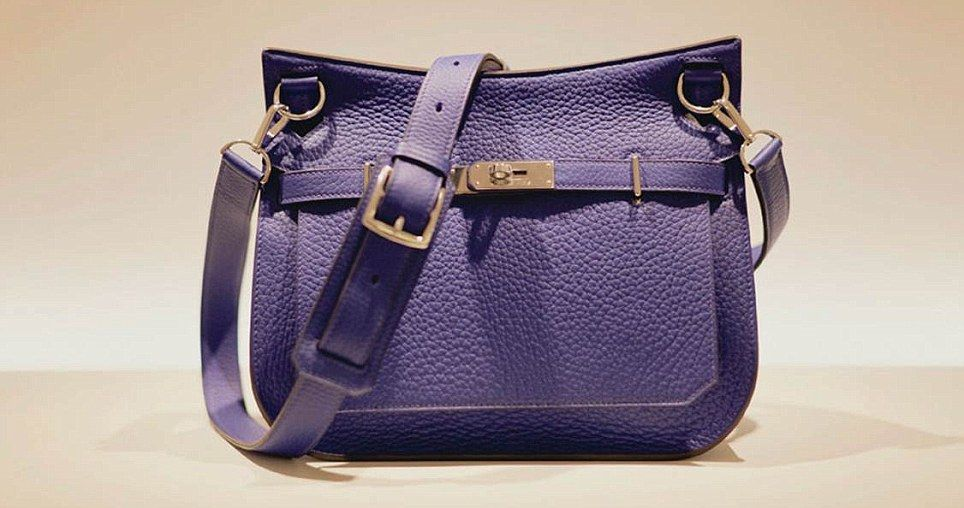 7eb874c44c The Hermes Jypsière saddle bag with adjustable shoulder strap and silver  hardware is priced at £4