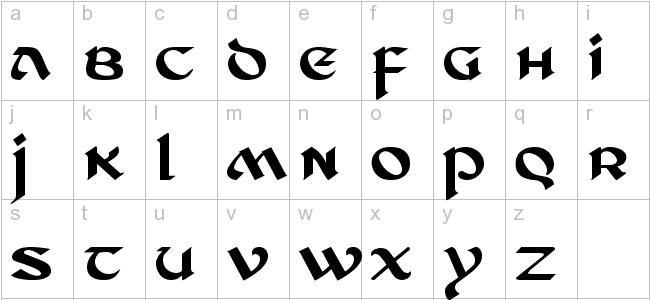 Tattoo Gaelic Font Creater: Celtic Font Tattoo Ds Celtic 2