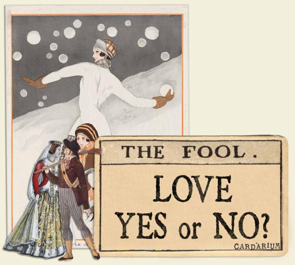 The Fool Tarot Card Yes Or No Love Cardarium The Fool Tarot Tarot Cards