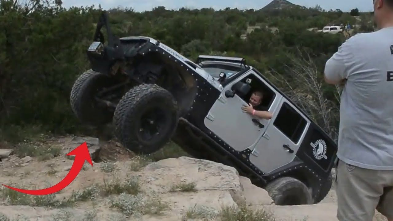 Texas 4x4 Jeep Off Road Climbing Usa Off Road Extreme 4x4