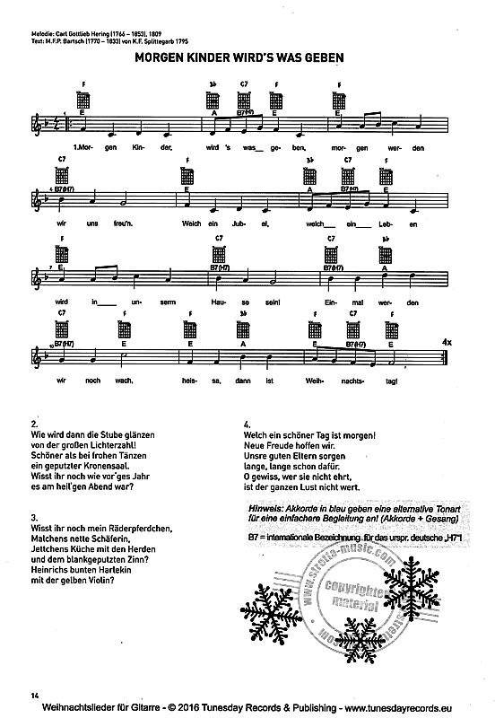 weihnachtslieder f r gitarre im stretta noten shop kaufen advent weihnachtslieder