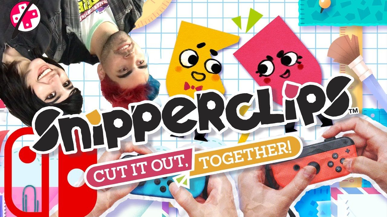 I can see this game ruining relationships (Snipperclips)