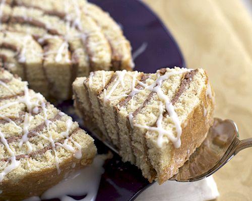 Cinnamon Roll Cake #rollcake