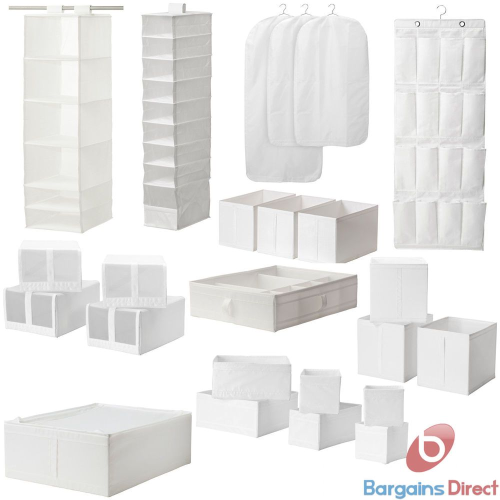 Ikea Skubb Hanging Wardrobe Clothes Organiser Bedroom Shoe And