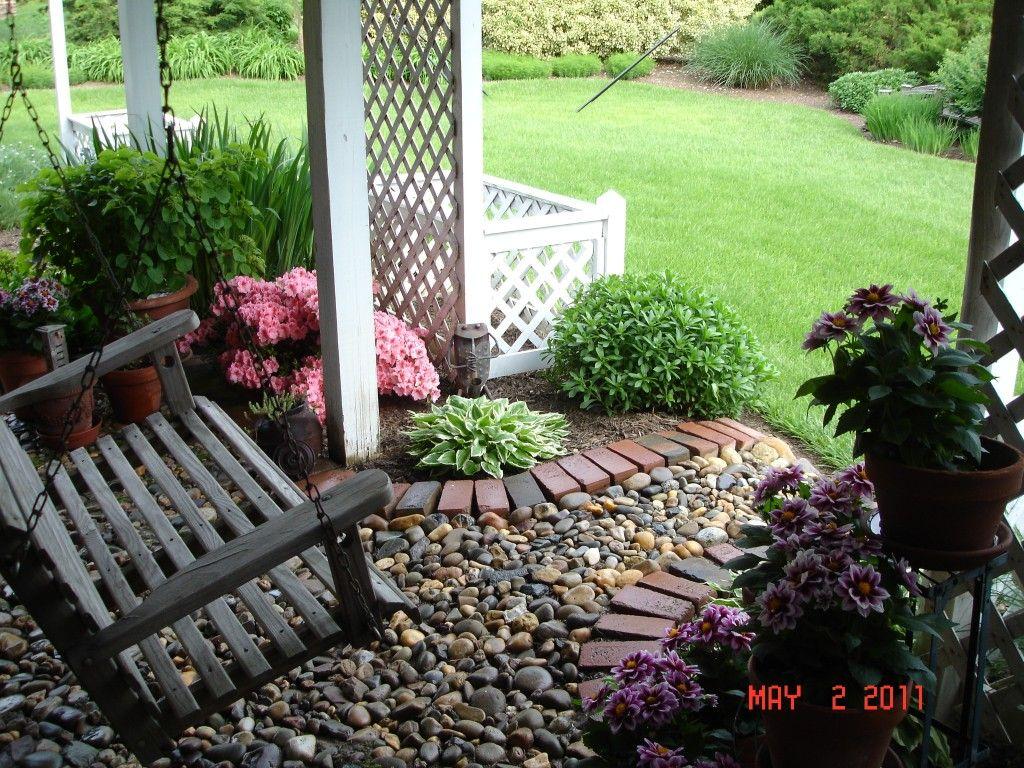 Under deck landscaping lisa earthgirl gardening tips for Spring garden ideas