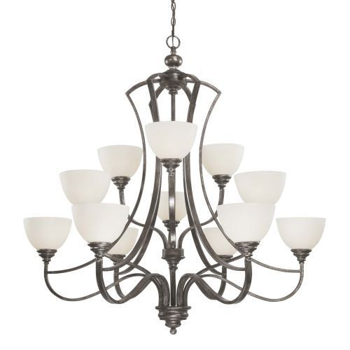 Jeremiah company c26912tm benton large foyer chandelier chandelier tarnished metal at ferguson com