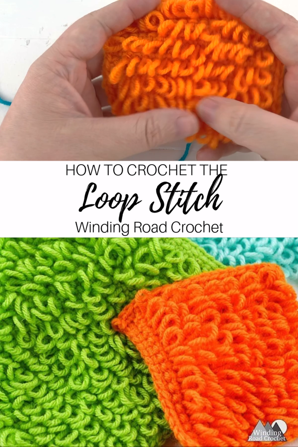 Crochet Loop Stitch Video Tutorial by Winding Road Crochet – Örgü