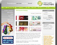 This Website Was Designed By Nutcracker Design And Marketing For Secure Vouchers Web Design Design Website Design